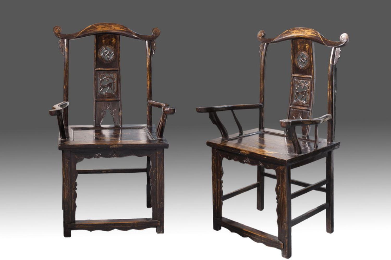 Pin mueble chino tibetano tina de ciudad real muebles - Sillas antiguas de madera ...